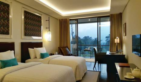 Deluxe Room resort handara