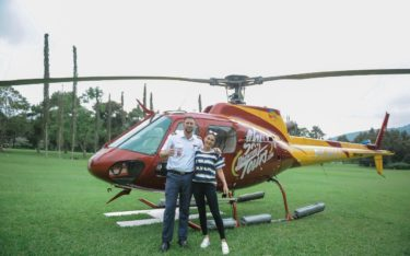 helicopter handara bali