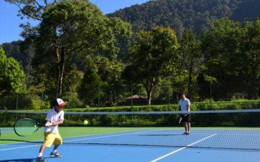 tennis court handara players