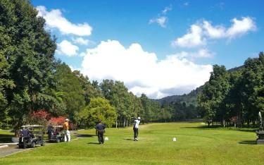 Golf hole course one