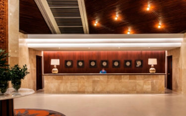 handara lobby entrance