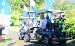 golf caddy car