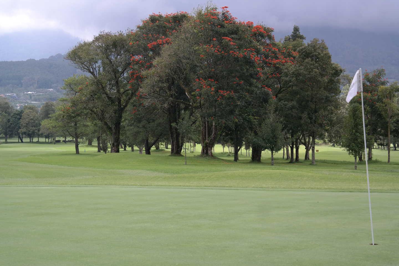 Hole 9 at Handara Golf & Resort Bali
