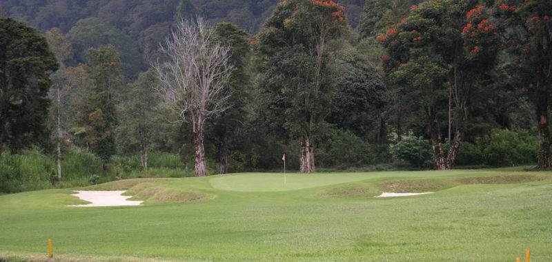 Handara Bali Hole 12 approach and green