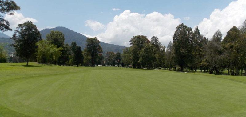Hole 14 at Handara Golf Course