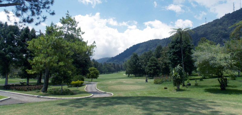 The blue tee box on hole 15 plays 34 yards longer than the whites. Whew!
