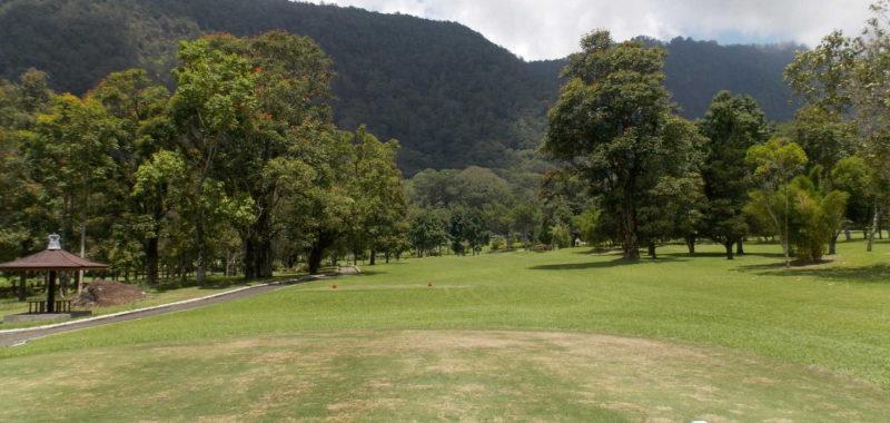 hole 14 at Handara Golf & Resort Bali