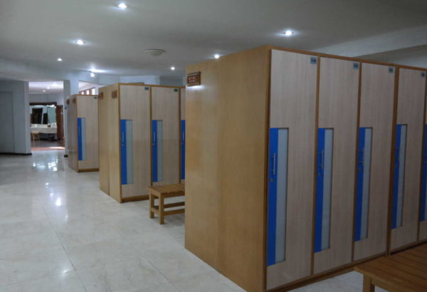 Mens locker room
