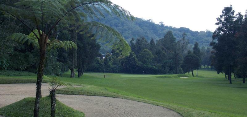 Hole 17 at Handara Golf Resort