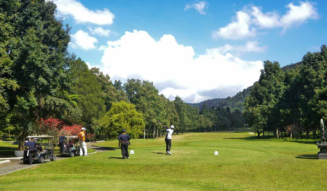 Bali golf getaway experience from Golf course resort