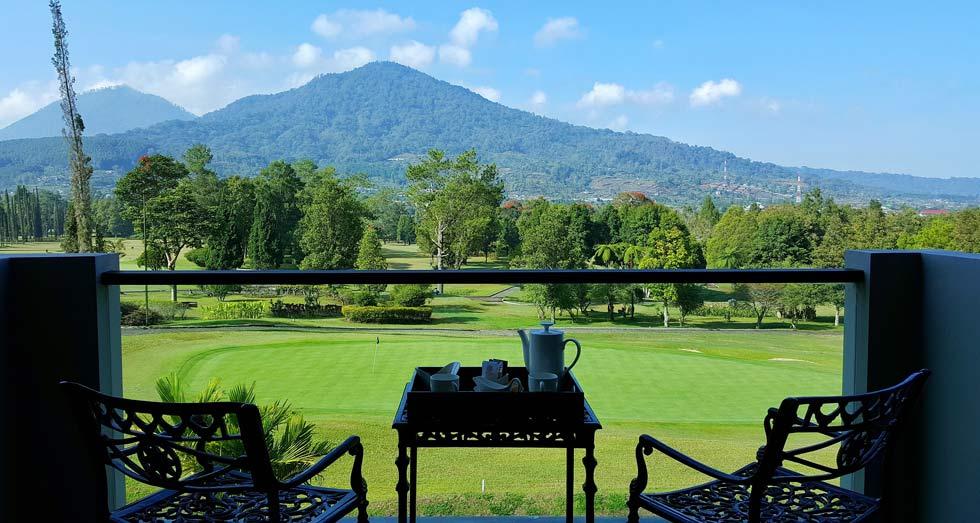 Bali golf getaway experience from Room Dining Handara Resort