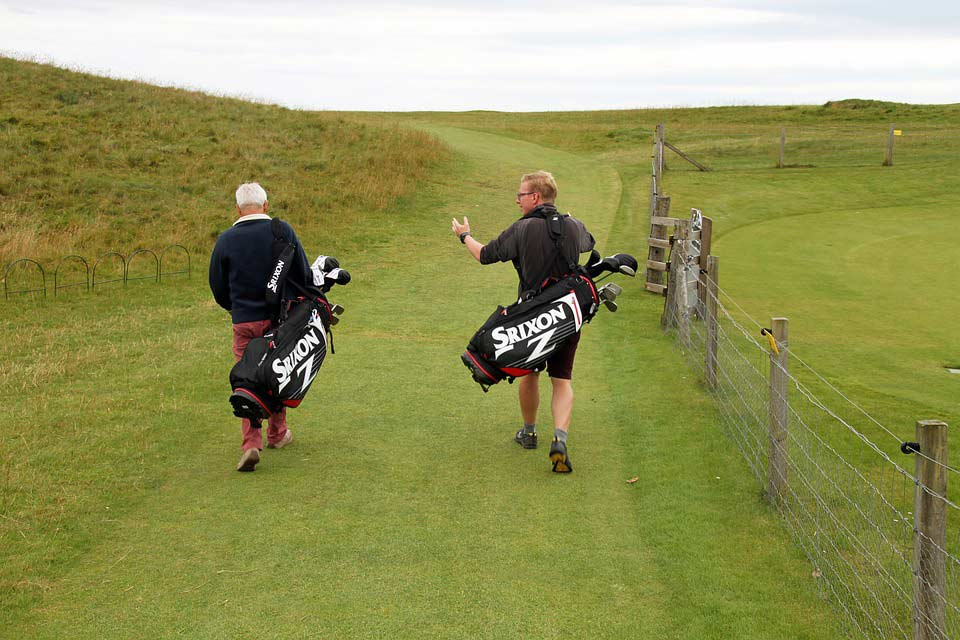 Playing Golf Good for you business relationship