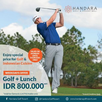 Golf + Free Lunch