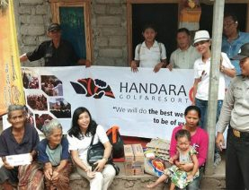 Donated in Karangasem Area